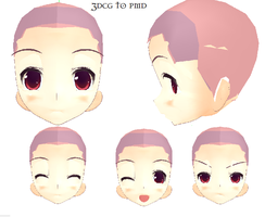 MMD- Soft Face-DOWNLOAD by MMDFakewings18