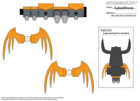 Cubee - Unicron '3of3' by CyberDrone