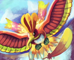 The Mystical Ho-oh by Phatmon66