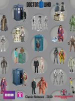 Doctor Who Action Figures 2010 by SontaranCyberman