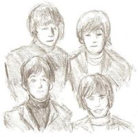 Beatles splotch by Particularlyme