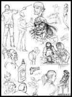 Sketch Page 5 by DamienSaelak