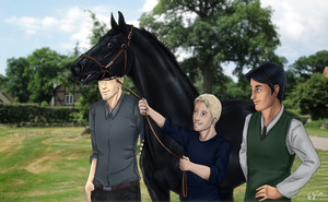 New Arrivals from the Royal Pirates Stables by Jullelin