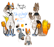 MYO Grem2 Contest // Shipshape by Closet-Furry