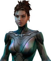 Sarah Kerrigan Heart of the Swarm by IvanCEs