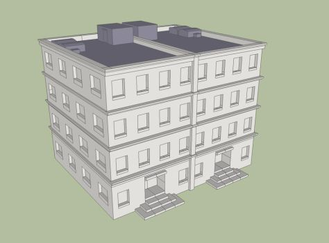 Obhan 39 s deviantart gallery for Sketchup building