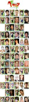 Hetalia Live Action Cast - Full by mistress-kizuna