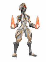 Warframe Ember by spaceMAXmarine