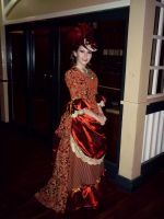 19th Century Style: Bustle Gown by issuesmissflight