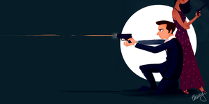 James Bond by lalitterboxes
