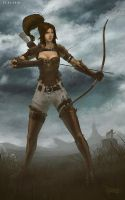 The Archer by Br-Artemius