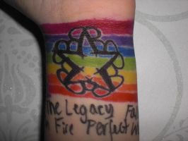BVB Wrist Rainbow Logo by Shallow-Heart-Break
