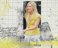 Sharpay In Yellow by TisdaleLover
