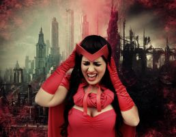 Scarlet Witch - House of M by WhiteLemon