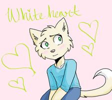 Whiteheart by XxmarshmellowkittyxX