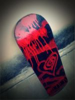 Eat me Drink me Custom Skate 2 by vOd3vIlz