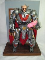 general Hordak and Baby adora by hunterknightcustoms