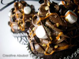 Rocky Road Faux Cupcakes 02 by CreativeAbubot