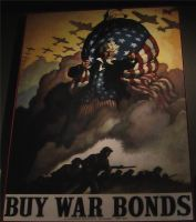 Hyde Park, NY - WWII Poster 2 by Ovid2345