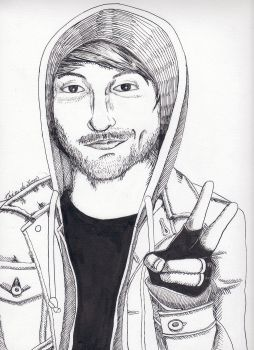 Alex from All Time Low by anomalye