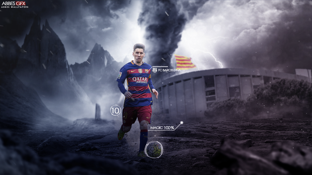 Lionel messi wallpaper 2015/16 by Abbes17