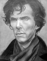 Benedict Cumberbatch by SchizophrenicUnicorn