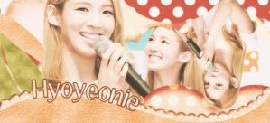 PSD Sign Hyoyeonie by sophie-ddh