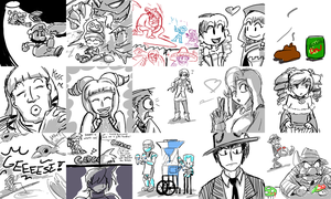 random requests 5 by FuPoo