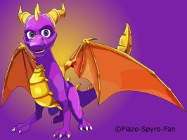 Spyro by Crimson-Flazey