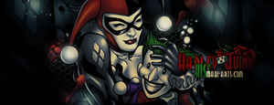 Harley Quinn Kiss Gift by odin-gfx