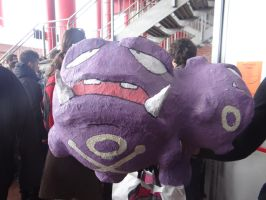 Team Rocket's Weezing - Mantova Comics 2013 by Groucho91