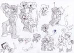 I love drawing 3 8D by Huispe