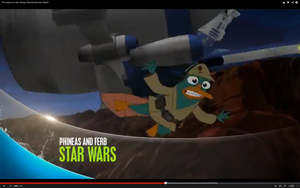 Agent P in Phineas and Ferb: Star Wars by RedJoey1992