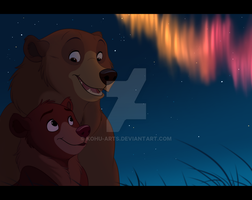Brother Bear by kohu-arts
