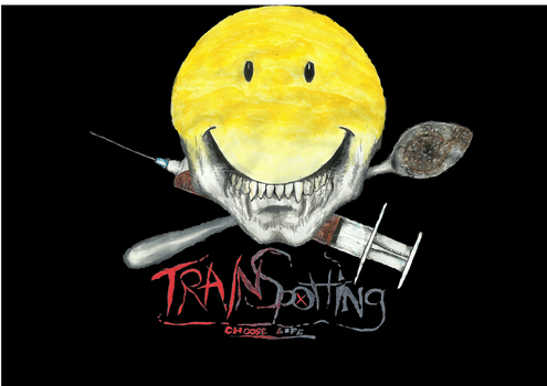 Trainspotting logo by metal-kiwi