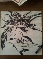 Air Gear-ultimate Ikki's  shadow by D34THM3T4L