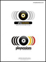 Playsessions.com Logotype by nofx