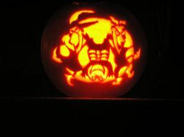 Lock, Shock and Barrel Pumpkin by Charlio4444