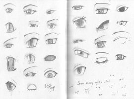 Eyes Everywhere! O.o by Iduna-Haya