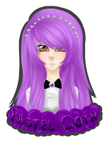 Pastel Goth by Mikapower19