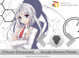 [Chrome Theme] Chitose Shirasawa by PrismCross