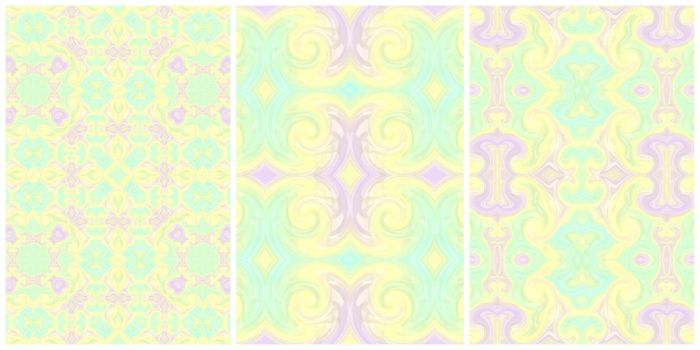 Seamless Absract Patterns by Kaleiope-Studio