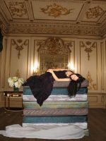The Princess and the Pea by martine8719