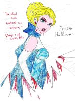 Snow Queen Vampire Elsa by Astrogirl500