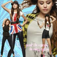 Pack de 4 fotos png de Miley by JonaticinlovewithJoe