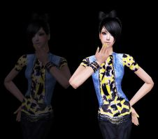 Suzy Roxas: My Sims 2 Girl by TheMangaBoy
