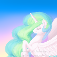 Celestia Speed Paint by RhythmGeneration