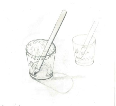 Pencil Exercises - 8 - Cup 2 by murta98