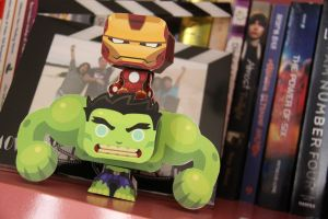Hulk and ironman! by pigleenlotus