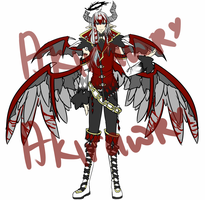 Auction Adoptable : Angel Youkai [CLOSED] by Akinyon